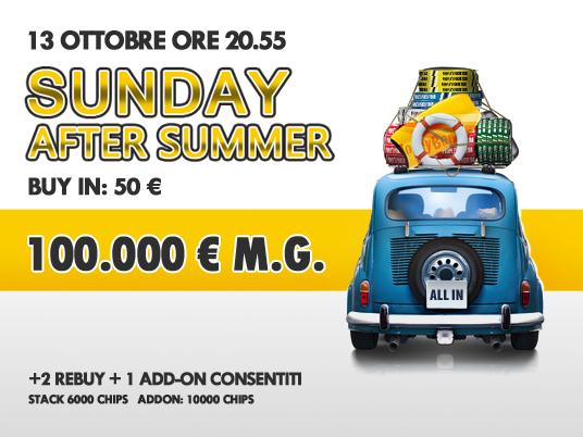 Il Sunday After Summer apre i cancelli: corri ad iscriverti!