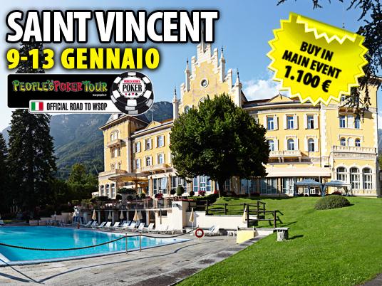 Da lunedì 4 novembre le qualificazioni per il PPTour di Saint Vincent!