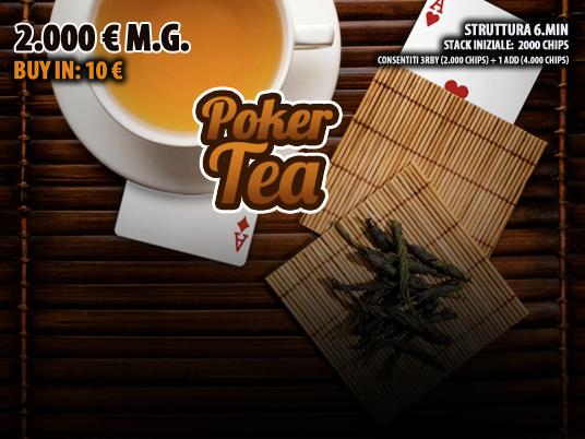 Su People's Poker ci sono 2.000 motivi in più per restare con noi all'ora del Tè!