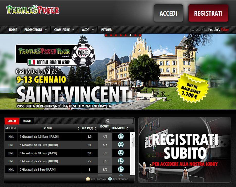 Su People's Poker arriva la Fast Registration: entra al volo nel torneo che preferisci!