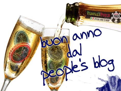 People's Poker brinda con tutti voi ad un raggiante 2014!