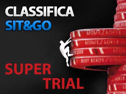 Super Trial Sit&Go: dal 2 all'8 gennaio prova la nuova classifica!