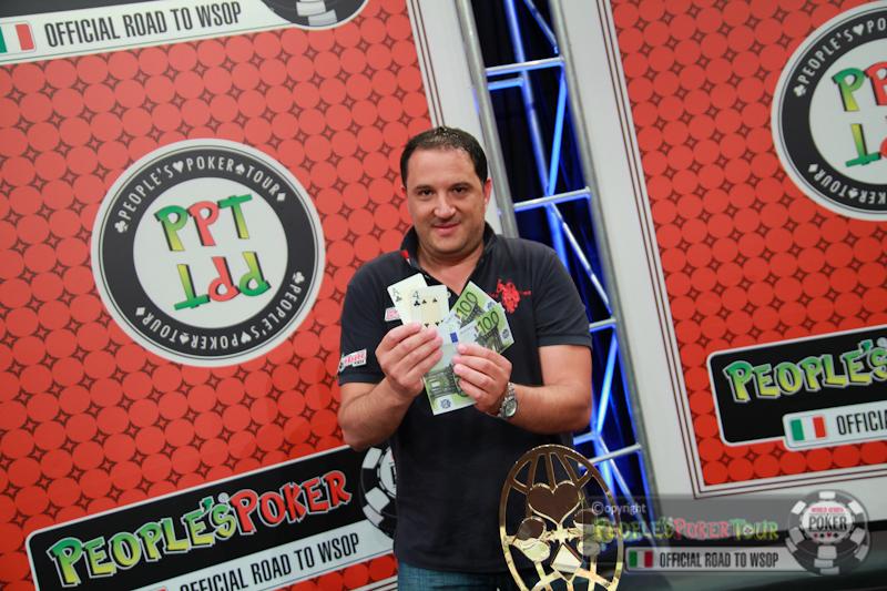PPTour Campione d'Italia – A Michele Serafini il primo ticket online per il Runner Side Event