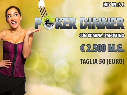 Il Poker Dinner torna in formula Bounty: nel mirino sempre lei!