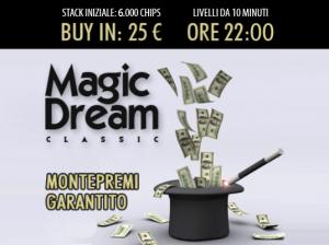 Il Magic vi aspetta in lobby dal lunedì al venerdì alle 22!