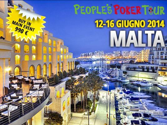 PPTour Malta – Per Bellanca non sarà complicato arrivare da Palermo a Portomaso…