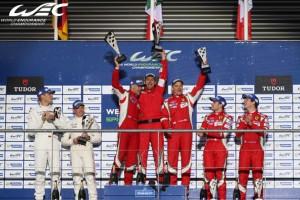 L'immagine del trionfo di Marco Cioci con il suo team a Spa, in Belgio (clicca sull'immagine per l'articolo con il resoconto della gara)