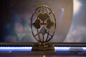 Il P-Globe sullo sfondo della nuova scenografia del Final Table, inaugurata a Malta