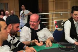 Piero JAGUAR60_ Pallassini, uno dei 33 players ancora in gioco nel Las Vegas Sunday