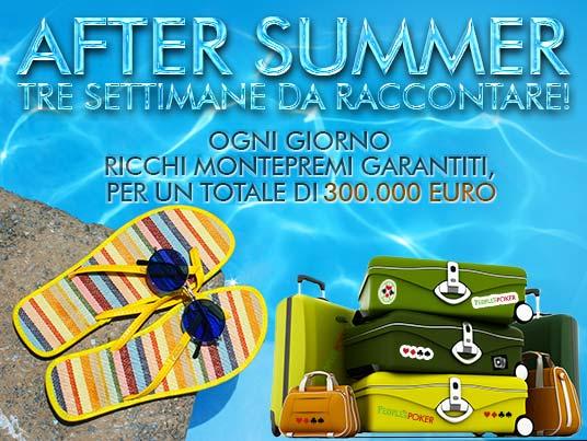 """People's """"After Summer"""": in palio 300mila Euro per regalarti tre settimane da raccontare!"""