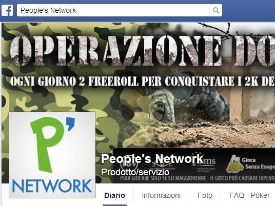 People's Network, cambia l'immagine: dicci se ti piace!