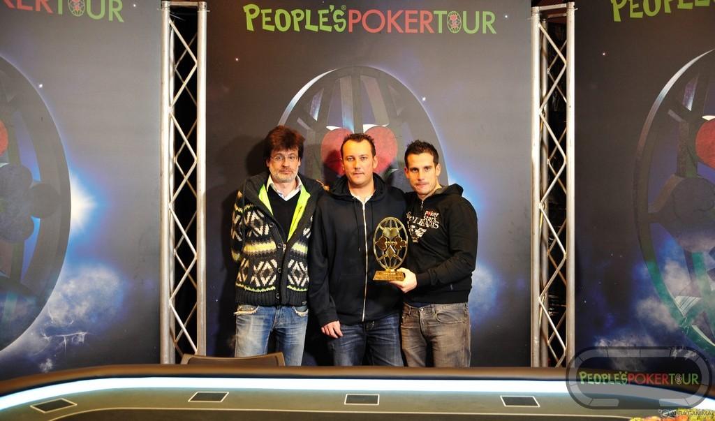 Il People's Poker Tour ad Alessandro De Iaco