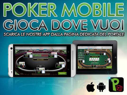 App poker, dimezzata la banda necessaria raddoppiato il divertimento garantito