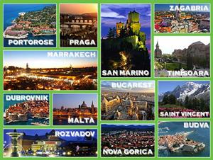 Clicca sull'immagine per conoscere meglio le destinazioni e votare le tue preferite!