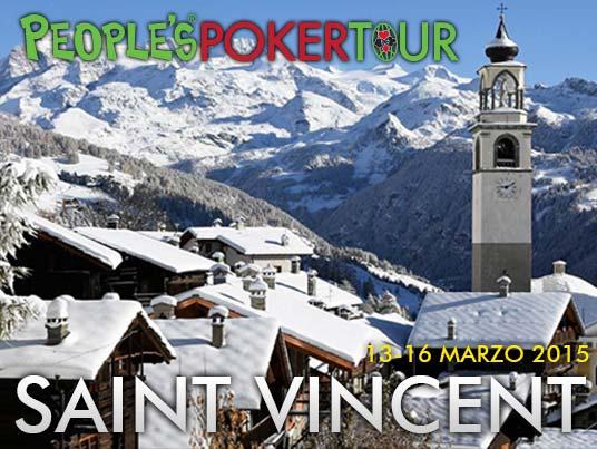 PPTour 2015: a Saint Vincent con sat superpopolari, 10 euro per arrivare al Main, 50 cents per il primo step