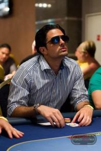 Andrea Piglionica ai tavoli del PPTour, in attesa della decisione di un avversario...