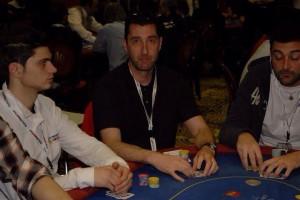 Un'immagine di archivio, quando al PPTour di Nova Gorica del 2011 Dante Rosato sfiorò il Final Table