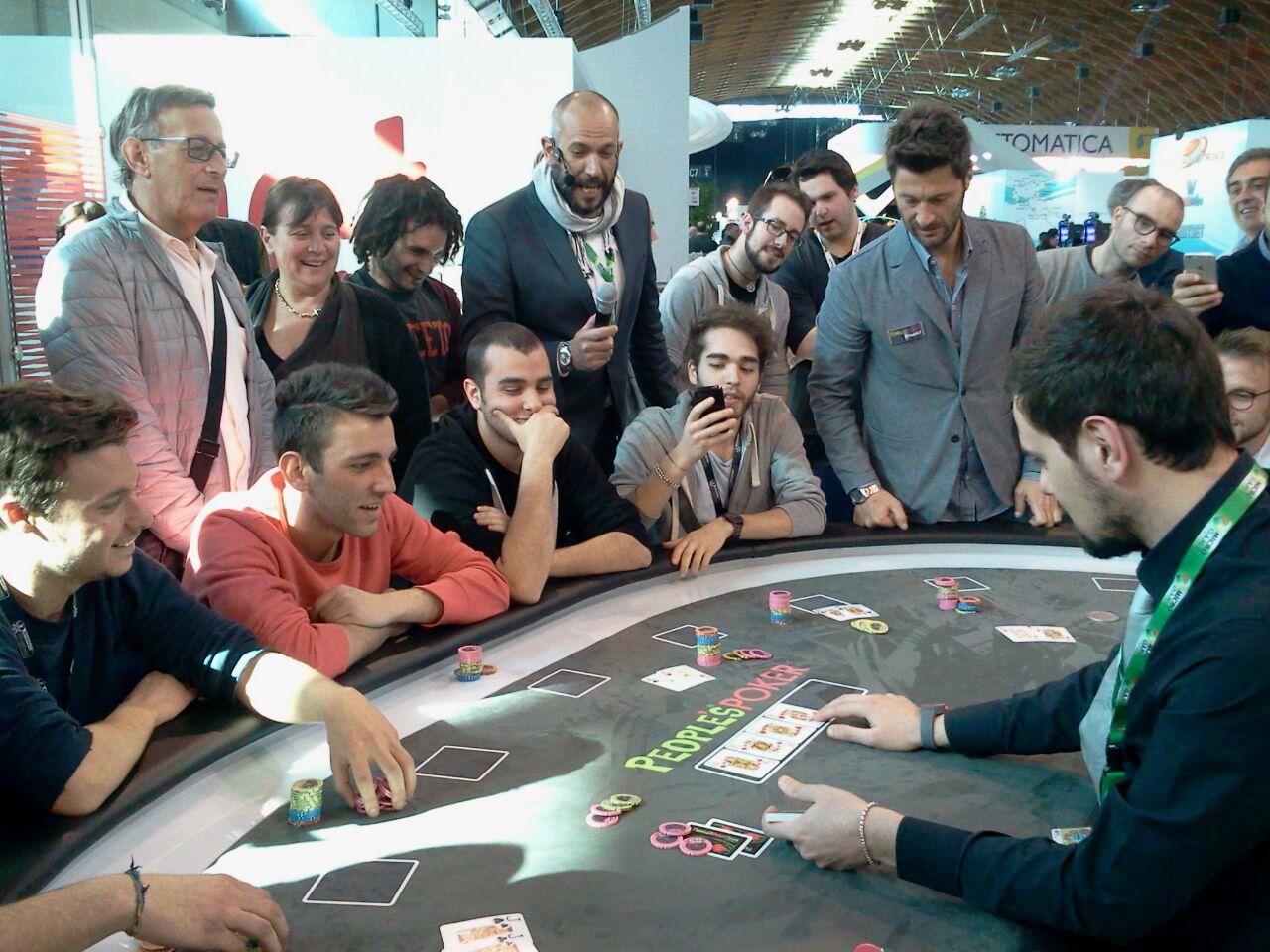 Il poker live torna all'Enada con Microgame… ed è boom di visitatori!