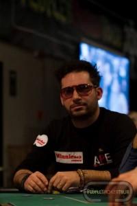 Salvatore CAPITAN_FELIX Carletta ai tavoli del People's Poker Tour di Saint-Vincent lo scorso anno