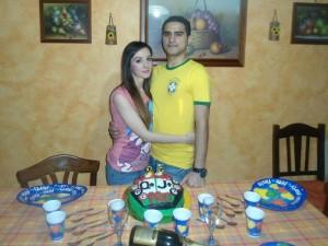 Olga e Alessandro festeggiano il compleanno di lui con la vittoria del pacchetto PPTour!