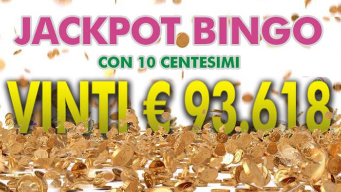 La Puglia ancora baciata dalla fortuna: con 10 centesimi vince il Jackpot da 93mila Euro su People's Bingo!