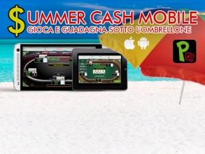 Divertiti e conquista bonus dalla spiaggia con la nuova promo Summer Cash Mobile!
