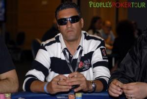 Antonio Morello ai tavoli del PPTour di Malta nel 2011