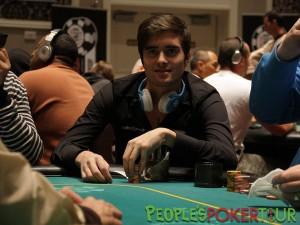 """Rosario Ventimiglia ai tavoli del """"PPTour Special Event"""", al Caesar's Palace di Las Vegas nel 2012"""