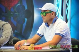 Alfonso 'MARINAIO983' Riccardi al Final Table del PPTour di Malta, nei giorni scorsi