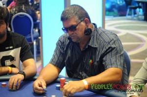 Biagio NAT1964 Natale ai tavoli del Main Event del People's Poker Tour di Malta delle scorse settimane