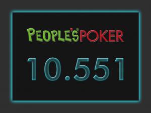 Record di presenze ieri nella Lobby People's Poker