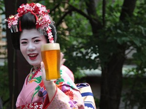 Quel pomeriggio con una Geisha e una birra...