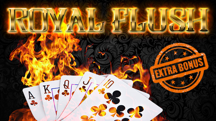 Tornei con extra-bonus: Mini-Flush, Royal Flush e Flush on Sunday