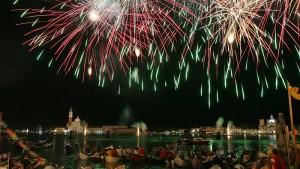 18.07.2009 Venezia, punta della dogana. Festa del Redentore. © Marco Parente/Unionpress