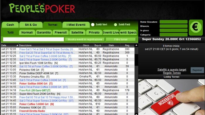 Lobby People's Poker: in arrivo mercoledì una nuova versione