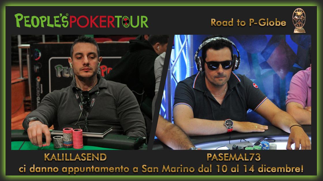 San Marino, Massimo Federiconi e Pasquale Conte tornano al PPTour