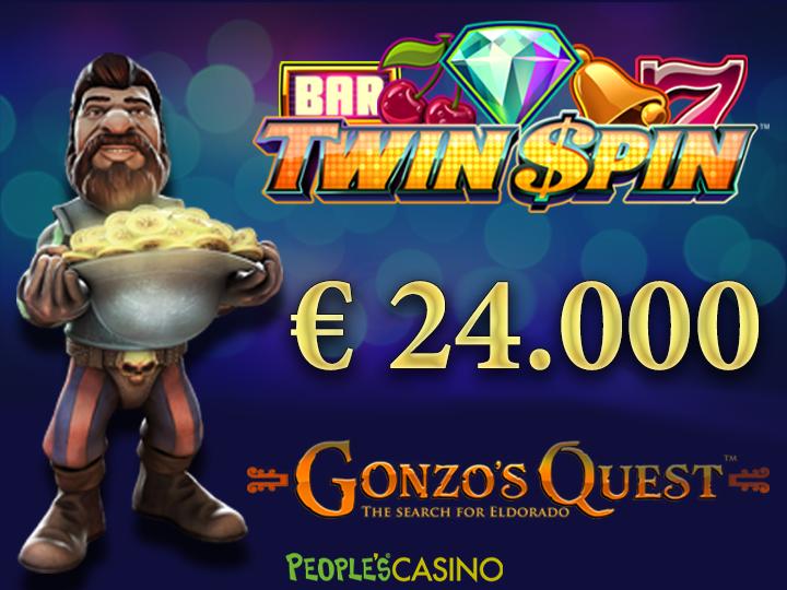 3 spin al Casinò che valgono oltre € 24.000!