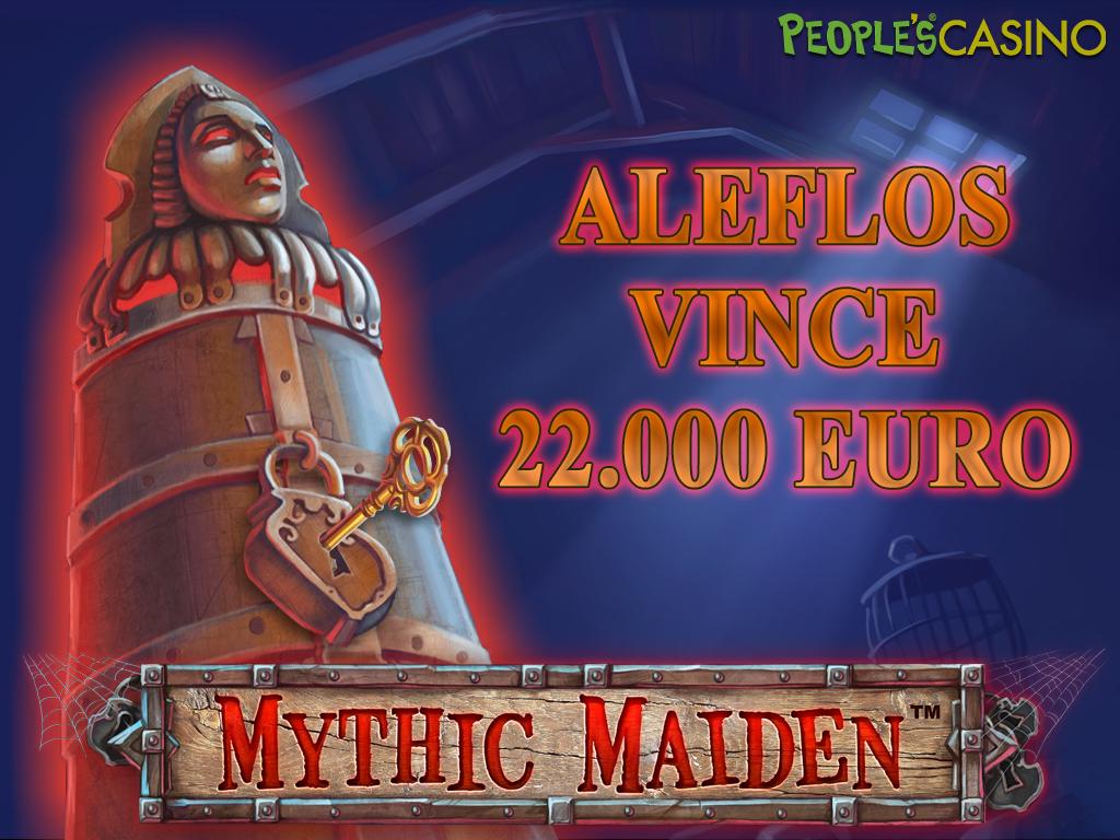 Vincita straordinaria con Mythic Maiden: oltre € 22.000 in un click!
