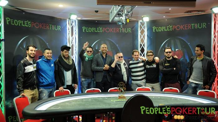 PPTour San Marino, al final table Michele Gaudioso parte da chipleader