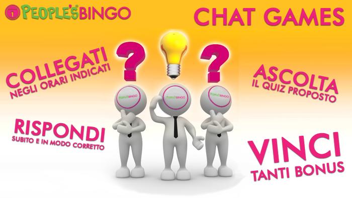 Ritornano i Chat Games: rispondi ai quiz e vinci subito!