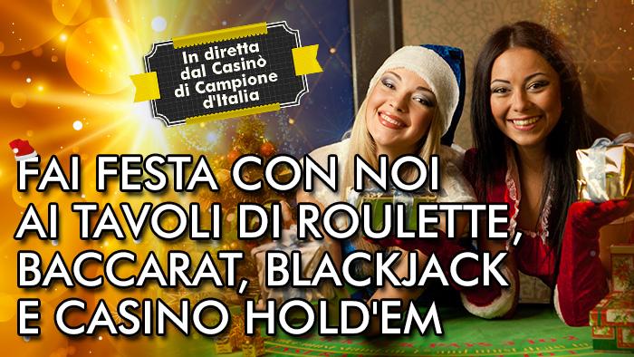 Vivi il tuo Natale in diretta su People's Casino!