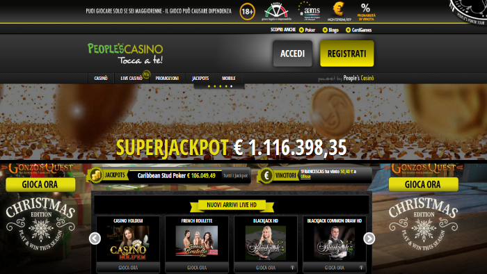 Microgame, a maggio il Casinò ha distribuito 100 milioni di euro