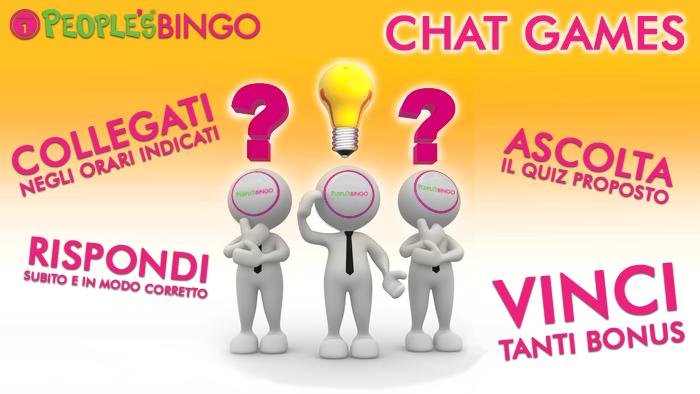 People's Bingo: ora con i chat games si vince prima dell'estrazione