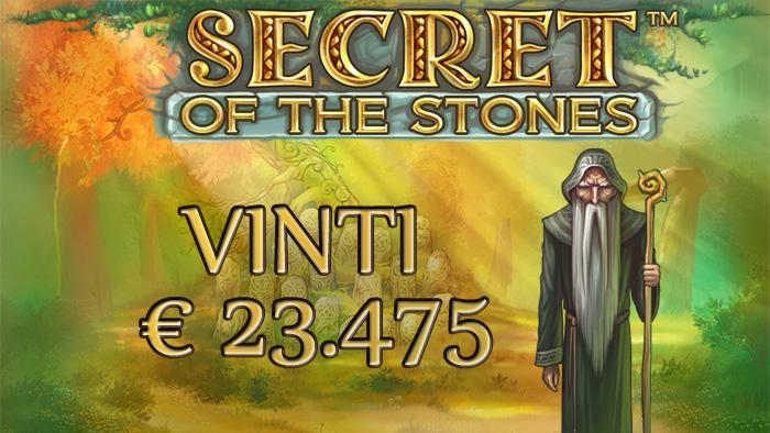 People's Casino: xxciccioxx sulle tracce di Stonehenge conquista oltre € 23.000