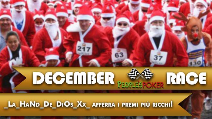 Assegnati i 10.000 Euro con le 'Maratone' di dicembre, ora si corre per la January Race!