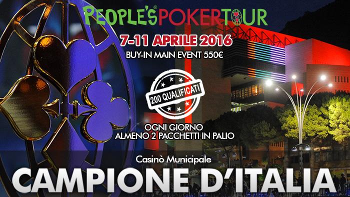PPTour, il 2016 parte da Campione: si giocherà dal 7 aprile, buy-in super popolari