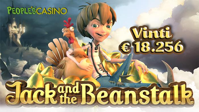 Jack per un giorno: il fagiolo magico stanotte ha regalato oltre € 18.000!
