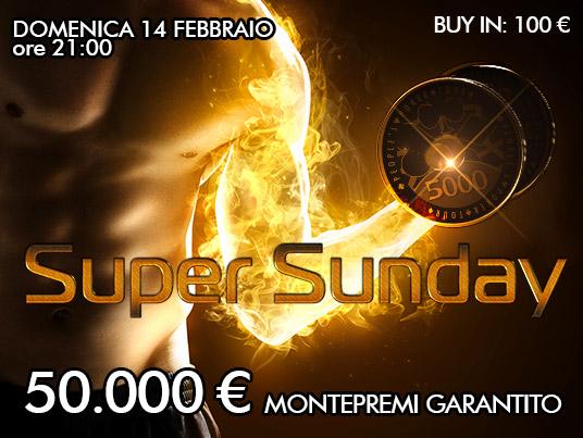 Domenica hot con 50mila euro al Super Sunday. Pamela giudice su FB regala il buy-in