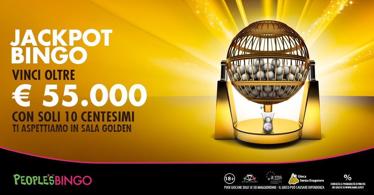 People's Bingo: sale aperte tutto il giorno con jackpot stellari!