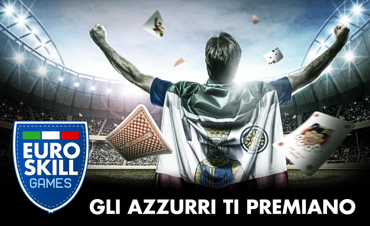 Se l'Italia vince o pareggia i Card Games pagano di più: Forza Azzurri